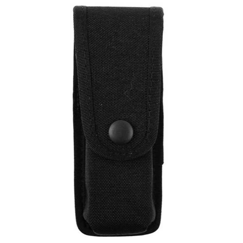 Uncle Mikes Double Stack Fitted Single Magazine Pouch Double Stack Cordura Black 88172