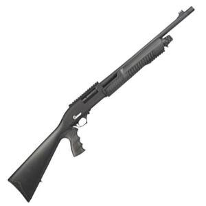 "Century Arms International Catamount Lynxx Pump Action Shotgun 12 Gauge 18.5"" Barrel 3"" Chamber 5 Rounds Synthetic Stock Black SG2118-N"