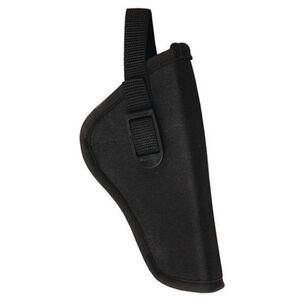 """Bulldog Cases Deluxe Hip Holster 5""""-6.5"""" Large Revolver Right Hand Nylon Black"""