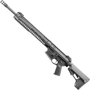 "Spikes Roadhouse Precision Rifle 6.5 Creedmoor AR Style Semi Auto Rifle 20"" Krieger Barrel 15"" M-LOK Handguard Collapsible Stock Matte Black Finish"