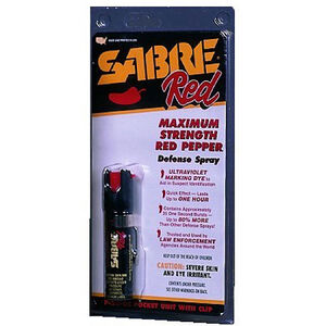 SABRE Red Pepper Spray Pocket Unit With Clip P-22-0C