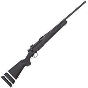 """Mossberg Patriot Youth Bolt Action Rifle .308 Winchester 20"""" Barrel 5 Rounds Synthetic Bantam Stock Matte Blue Finish 27865"""