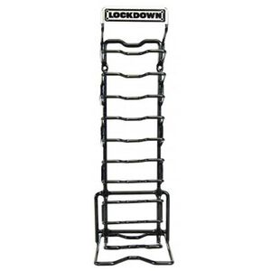 Lockdown AR-15 Magazine Rack Vinyl Coated Steel Holds 10 Magazines 222972