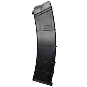 "SGM Tactical SAIGA Shotgun 12 Rounds Magazine 12 Gauge 2.75"" Shells Only Polymer Matte Black"
