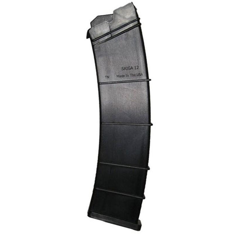 "SGM Tactical SAIGA Shotgun 12 Rounds Magazine 12 Gauge 2.75"" Shells Only Polymer Matte Black"