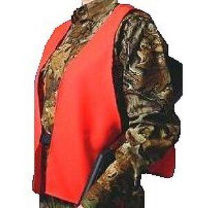 Hunter's Specialties Super Quiet Orange Safety Vest One Size Fits Most