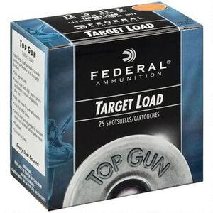 "Federal Top Gun 12 Gauge Ammunition 2-3/4"" Shell #8 Lead Shot 1 oz 1250 fps"