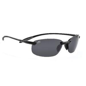 Serengeti Nuvola Polarized Sunglasses Shiny Black