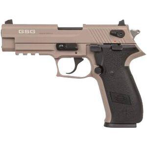 "ATI/GSG Firefly HGA 22 LR Semi Auto Pistol 4"" Threaded 10 Rounds Barrel Alloy Frame Tan"