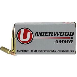 Underwood Ammo Match Grade .308 Win Ammunition 20 Round Box 180 Grain Nosler AccuBond Spitzer Projectile 2600 fps