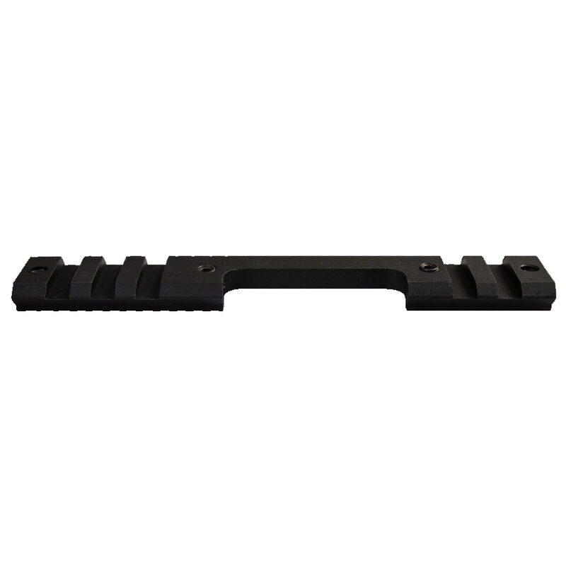 CZ USA Weaver Adapter Rail Converts 11mm Dovetail to Weaver For CZ 452/455 Rifles Machined Aluminum Matte Black