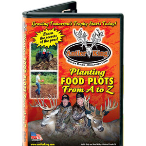 Antler King Planting Food Plots From A-Z DVD