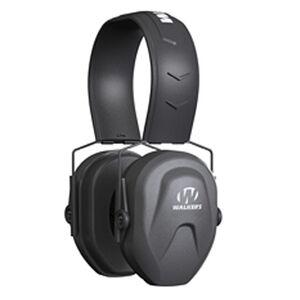 Walker's Game Ear Razor Compact Passive Youth/Women's Folding Earmuffs 23 dB Noise Reduction Rating Black