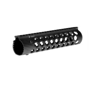 "Troy Industries Alpha Rail AR-15 Free Float Modular Handguard 9"" Aluminum Black STRX-AL1-90BT-01"