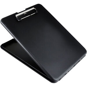 Saunders SlimMate Storage Clipboard Letter/A4 Size, Black