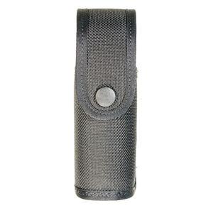 Stallion Leather Punch/Bodyguard 3oz Pepper Spray Covered Holder Nickel Snap Nylon Black