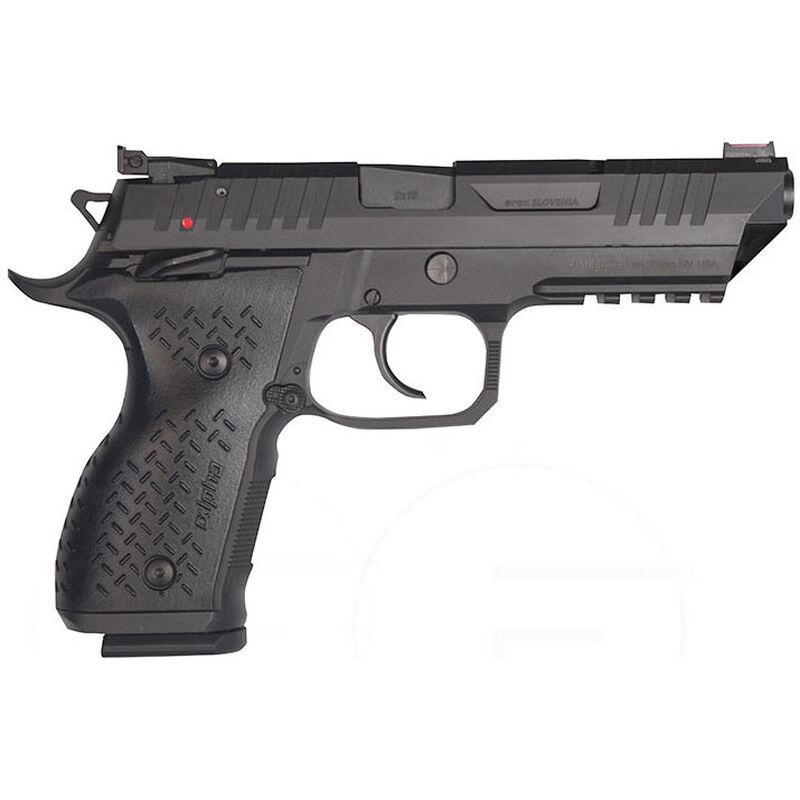 "FIME Group REX Alpha 9mm Luger Semi Auto Pistol 5"" Barrel 17 Rounds Steel Frame and Slide Black Finish"