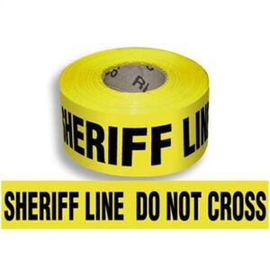 """Pro-Line Barricade Tape 1000' """"Sheriff"""" Tape 3"""" Width BT05"""