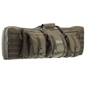 "Drago Gear Tactical Double Gun Case 42"" Nylon Green 12-323GRN"