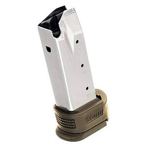Springfield Armory XD Compact Magazine .45 ACP 10 Rounds With Dark Earth X-Tension Grip Stainless Steel XD4551