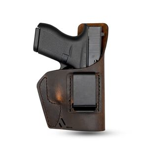 Versacarry Element Holster IWB Size Micro Right Hand Leather Distressed Brown