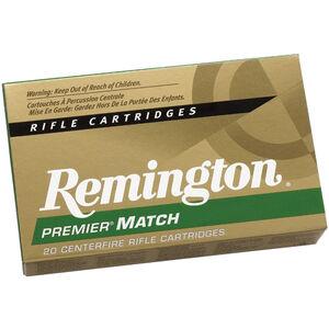 Remington Premier Match .223 Remington Ammunition 20 Rounds 62 Grain Hollow Point Match Projectile 3025fps