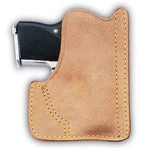 Galco Front Pocket Kahr MK40/MK9/PM40/PM9 Ambidextrous Leather Natural PH158