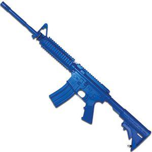 Rings Manufacturing BLUEGUNS M4 Flat Top Open Stock Forward Rail Rifle Carbine Replica Training Aid Blue FSM4FTR
