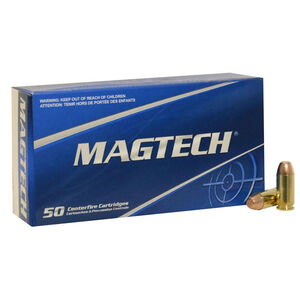 Magtech .40 S&W Ammunition 50 Rounds FMJ 165 Grains 40G