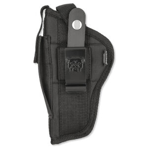 Bulldog Case Fusion Belt Holster Large Frame Autos Ambidextrous Nylon Black FSN-31