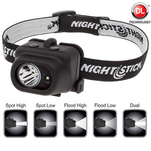 Nightstick Dual-Light Multi-Function 180 Lumen Headlamp NSP-4608B