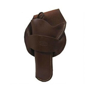 """Hunter Company 1089 Western Style Crossdraw Holster Large Frame Single Action Revolvers  4.625""""-5.5"""" Barrels Left Hand Leather Antique Brown 1089-240"""