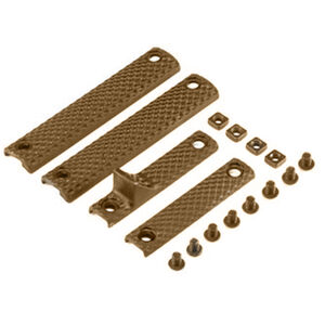 Knights Armament Company URX 3.1 Long Rail Panel Kit Polymer Flat Dark Earth 30410-FDE