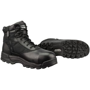 "Original S.W.A.T. Classic 6"" WP SZ Safety Men's Boot Size 13 Safety Toe Non-Marking Leather/Nylon Black"