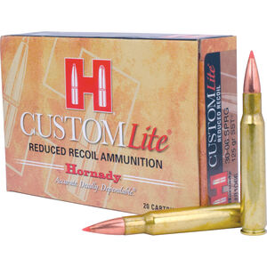 Hornady .30-06 Springfield Ammunition 20 Rounds SST BT 125 Grains 81066