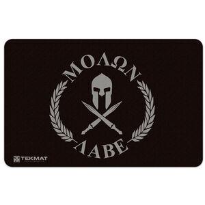 "TekMat Molon Labe Armorer's Bench Mat 11""x17"" Fabric/Neoprene Black"