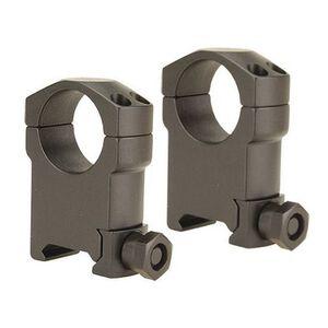 "Leupold Mark 4 Tactical Scope Rings 1"" Tube Diameter Super High Height Solid Steel Rings Matte Black"