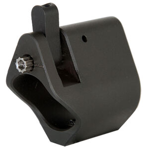 "Seekins Precision AR-15 Select Adjustable Gas Block .750"" Diameter Melonite Coated Matte Black Finish"