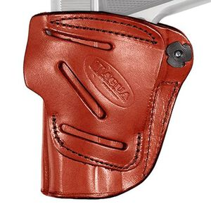 """Tagua 4 In 1 Holster Inside the Pants Fits S&W J Frame 2-1/8"""" barrel Right Hand Leather Black Finish"""