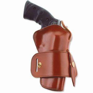 """Galco Wheelgunner Belt Holster S&W N Frame Revolver 4"""" Barrel  Leather Tan Finish WG126"""