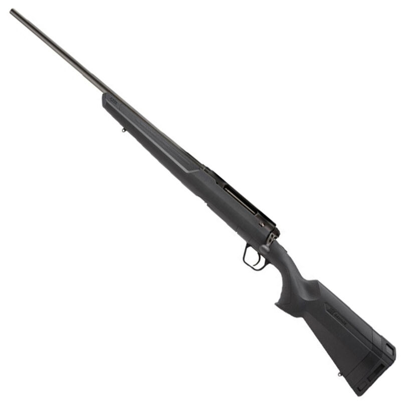 "Savage Axis Left Hand Bolt Action Rifle .223 Remington 22"" Sporter Profile Barrel 4 Rounds Detachable Box Magazine Synthetic Stock Matte Black Finish"