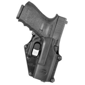 Fobus Digital Path Belt Holster For GLOCK 17/19/22/23 Right Hand Polymer Black GL2DPHBH
