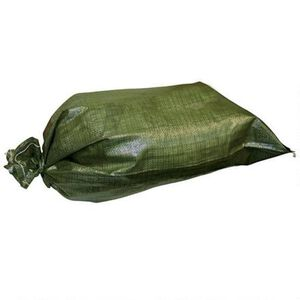 5IVE STAR One Polypropylene Sandbag in OD Green with Tie String Closure
