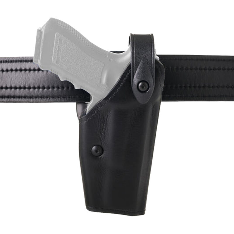 Safariland 6280 SLS Mid-Ride Duty Holster Left Hand Fits Springfield XD 9/40/45 with Light Hardshell STX Basketweave Black