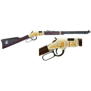 """Henry Golden Boy LE Tribute Lever Action Rifle .22 Caliber 20"""" Barrel 16 Rounds Walnut Stocks Brass and Blue Finish"""