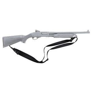 "Uncle Mike's Tactical Shotgun Sling Sewn In 1.25"" Swivels Nylon Black"