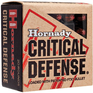 Hornady .45 Colt Ammunition 20 Rounds FTX HP 185 Grains 92790