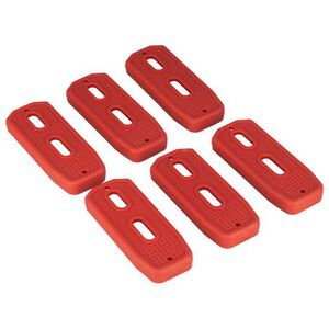 MFT Polymer Mag Floor Plate, Red, Per 6 PM556FP-R