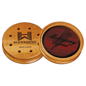 Woodhaven Custom Calls WH355 Mahogany Crystal Friction Call Turkey Yelps