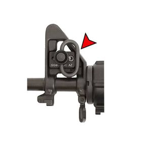 GG&G Quick Detach Front Sling Thing Side Sling Attachment Aluminum Black
